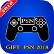 Gift Cards for PSN Store by games and application