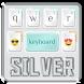 Silver technology keyboard by liupeng