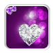 Diamond Heart Live Wallpaper by live wallpaper collection