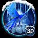 3d Ice neon phoenix theme by no.1 3D Theme