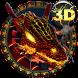 Blaze Fire Dragon free 3DTheme by creative 3D Themes