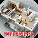 3D Home Interior Design by Riri Developer