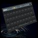 Black Round Keyboard by Echo Keyboard Theme