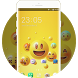 Happy Smile Free Theme design for Emoji Wallpaper by Mobo Theme Apps Team