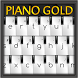 Piano Gold GO Keyboard Theme by Inner Works Studios