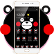 Black Lovely Bear Blusher Theme by New Design Themes 2018
