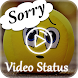 Sorry Video Status by Ventura Developer