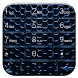 Dialer CarbonMetalBlue Theme by Luklek