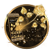 Golden Rose Luxury by Cool Theme Love