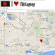 Chittagong map by Borgo Map