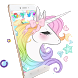 Rainbow Cloud Unicorn Theme by Angela Themes