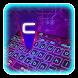 3D Laser Keyboard Yheme by Echo Keyboard Theme