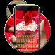 Rose Red petal keyboard hd by DevshrApps