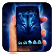Free Wolf Night Launcher Theme by CML themes 2017