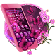 Pink Neon Butterfly Theme by Cool Launcher Theme