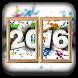 New Year Photo Frame Dual by Abdul Ghafoor