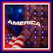 American flag liberty theme by cool theme designer