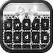 Black and White Keyboard Theme by Thalia Photo Art Studio