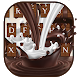 Milk Chocolate Keyboard Theme by Creative Theme Designer