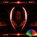 Alien Red Xperien Theme by Arjun Arora