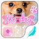 The dog for Hitap Keyboard by Emoji theme for hitap keyboard