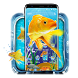 Aquarium Ocean Gold Fish Theme by Ahl ar-ray solutions pvt ltd