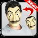 La Casa Mask de Papel Photo Editor by Kaizer Apps