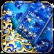 Blue Diamond Bow Theme by Best Cool Theme Dreamer