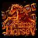 Flame Horse Keyboard Theme by Keyboard Dreamer