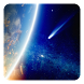 Earth and Space Live Wallpaper by Dynamic Live Wallpapers