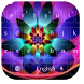 Color Flower Keyboard by cool wallpaper