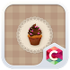 Chocolate Cupcake Theme by C Launcher Themes