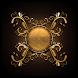 Gold Clock by Classic Clock
