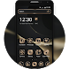3d simple business black gold melting point theme by cool theme and wallpapers