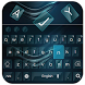Navy Keyboard for Huawei P10 by Keyboard Theme Factory