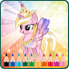 Coloring Book for My Little Pony by Generus Creative