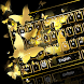 Golden Bow Keyboard Theme by Keyboard Dreamer