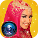 Bridal hijab photo frame by BLOSSOM Rock