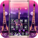 Dream Paris Eiffel tower Theme by fancy themes