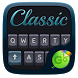 Classic Grey GO Keyboard Theme by Keyboard Fashion New