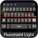 Fluorescent Keyboard Theme