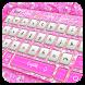 Pink Diamond Keyboard by Cool Keyboard Theme Studio