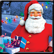Christmas Santa Gifts Giver by Leensa & Bros. LLC