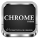 CHROME APEX NOVA GO ADW THEME by Worstkiller