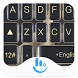 Gold Black Mate Keyboard Theme by Fashion Cute Emoji