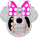 Silver Diamond Minny Pink Bow Theme by New Design Themes 2018