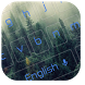 Peaceful Forest Keyboard Theme by Keyboard Theme Factory