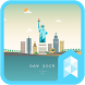Afternoon in New York theme by SK techx for themes