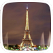 Eiffel Tower in Night by Heartful Theme