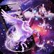 Unicorn Purple Dreamy Theme by Cool Theme Love